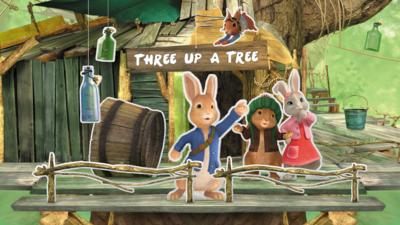 Peter Rabbit - Peter Rabbit: Three up a Tree