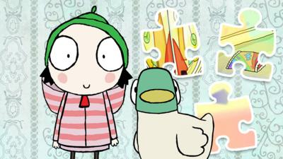 Sarah and Duck - Sarah and Duck Jigsaw Puzzle
