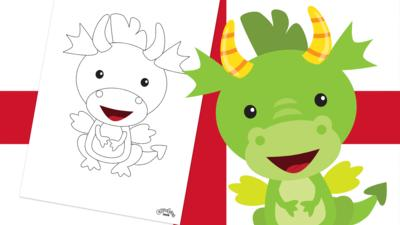 Let's Celebrate - St George's Day Dragon
