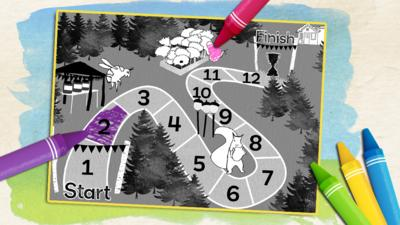 CBeebies Tortoise and the Hare - Print the Woodland Race Map