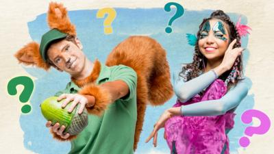 CBeebies Tortoise and the Hare - Tortoise and the Hare Quiz