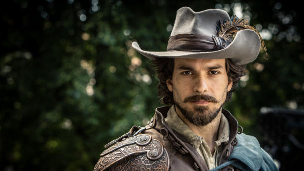 Santiago Cabrera in BBC One's The Musketeers