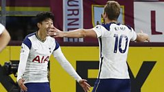 Tottenham's Heung-min Son and Harry Kane