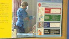 Nurse at St John's Hospital, Livingston