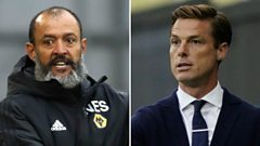 Nuno Espirito Santo and Scott Parker