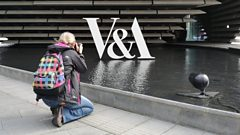 V&A Dundee visitor