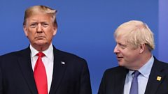 US President Donald Trump and UK Prime Minister Boris Johnson