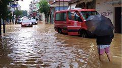 Flooding in Karditsa