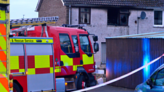 House fire in Ballymena