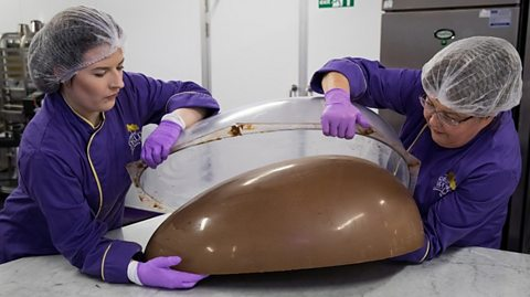Giant easter egg.
