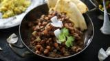 Aromatic blackeye bean curry