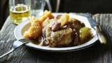 Chicken in cider