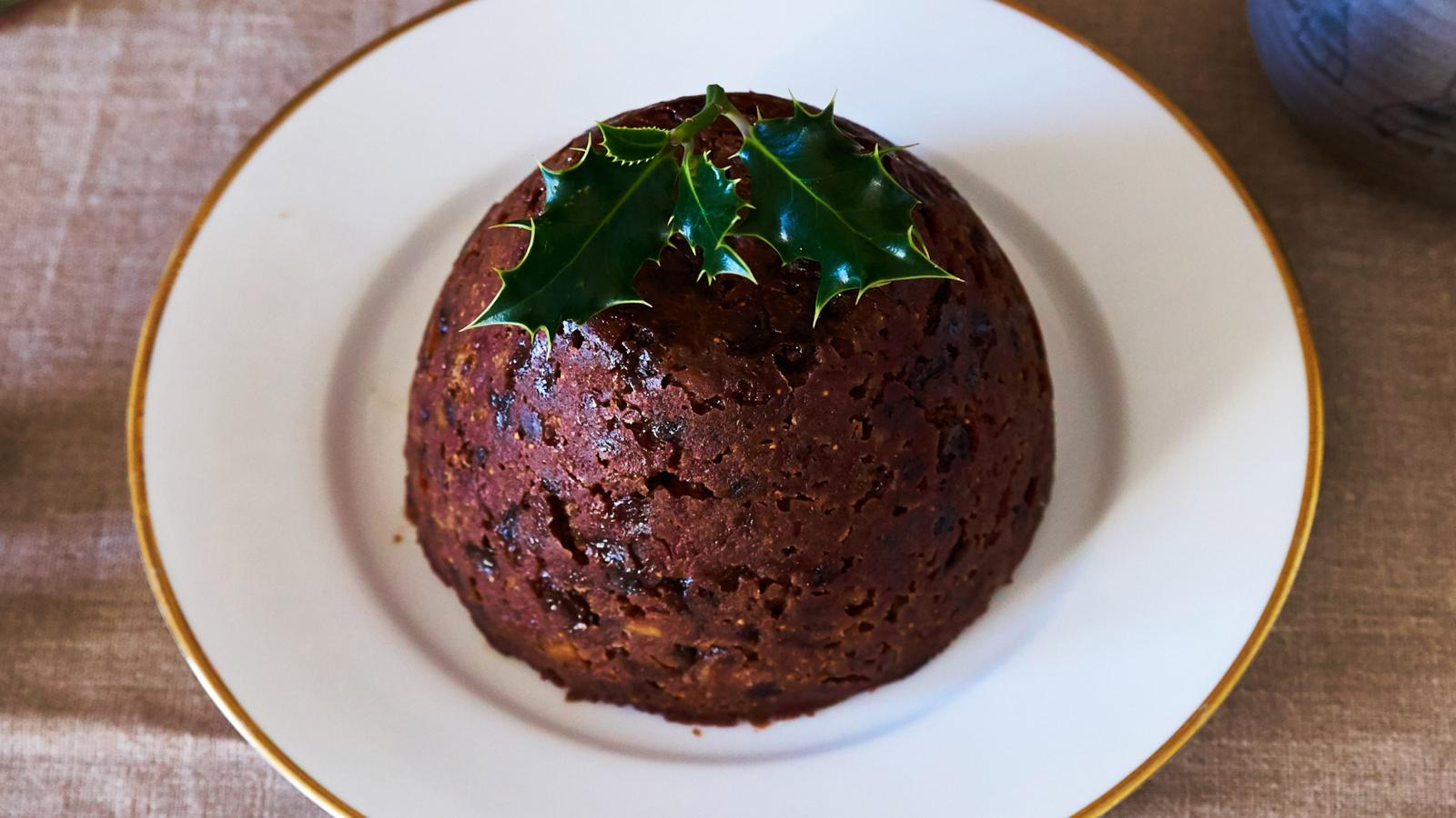 Perfect Christmas pudding