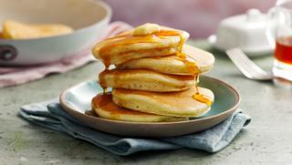 Fluffy American Pancakes Recipe Bbc Food