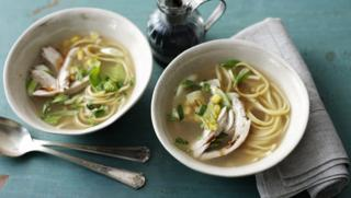 Chicken soup recipes bbc food how to make chicken noodle soup forumfinder Gallery