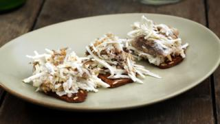Easy dinner party recipes bbc food smoked mackerel coleslaw by nigel slater light meals snacks forumfinder Choice Image