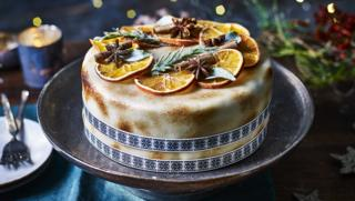 spiced christmas cake