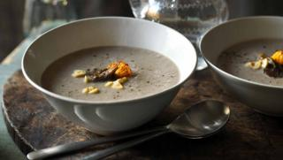 Wild Mushroom Soup Recipe Bbc Food
