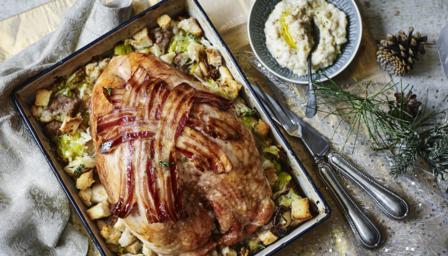 Christmas Roast.2 Hour Christmas Dinner