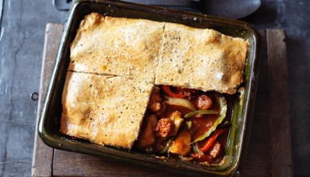 Basque chicken pie recipe bbc food forumfinder Image collections
