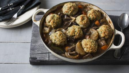 BBC Food - Recipes - Beef and ale stew with dumplings