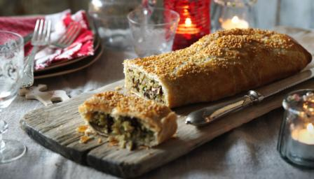 Christmas veggie wellington recipe bbc food forumfinder Choice Image