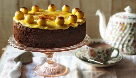 Mary Berry Apricot Simnel Cake