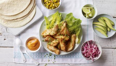 Fish tacos recipe bbc food for The best fish taco recipe in the world