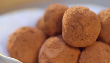BBC Food - Recipes - Gin and lime truffles