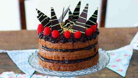 Miraculous Birthday Chocolate Cake Recipe Bbc Food Funny Birthday Cards Online Bapapcheapnameinfo