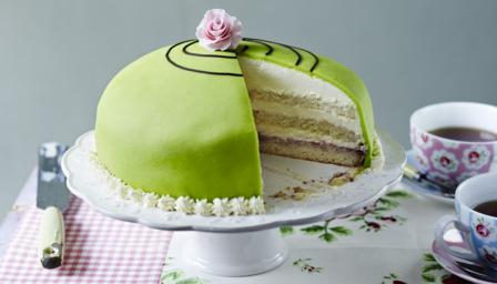 Swedish Desserts Princess Cake