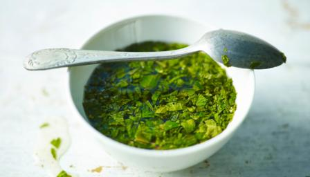 Real mint sauce