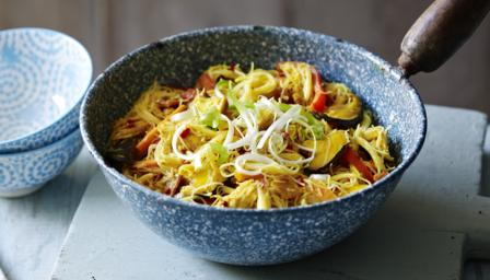 Singapore Style Noodles Recipe Bbc Food