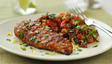 Spicy Chicken With Vegetable Ragu Recipe Bbc Food