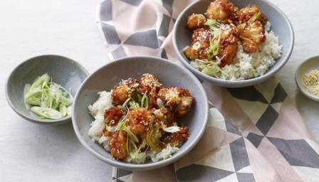 Spicy gochujang cauliflower 'wings' recipe