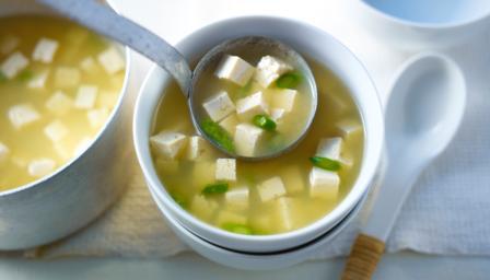 Spring Miso Soup Recipe Bbc Food