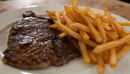 Bbc Food Recipes Steak And Perfectly Cooked Chips