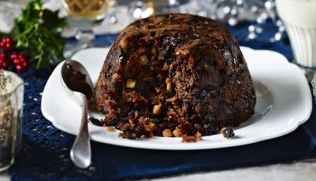 Bbc food recipes traditional christmas pudding with brandy butter forumfinder Choice Image