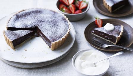Chocolate Fondant Cake Icing