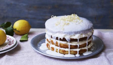 Lemon Cake With Lemon Frosting Uk