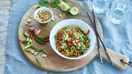 Bbc one eat well for less recipes rainbow noodles forumfinder Choice Image