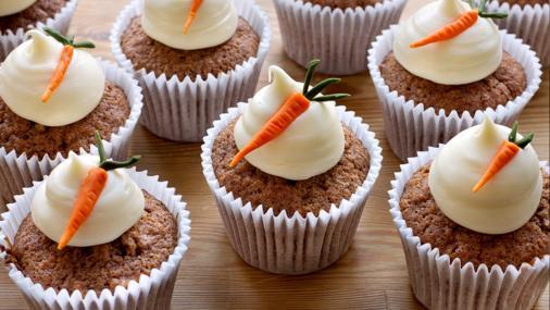 carrot cake cupcakes uk