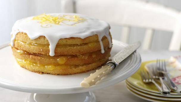 Cake Recipe With Lemon Curd: Mother's Day Recipes