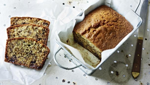 Chocolate chip banana cake recipe uk