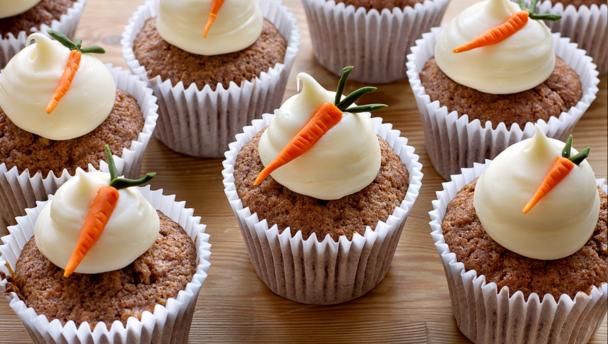 Cream Cheese Icing For Carrot Cake Muffins