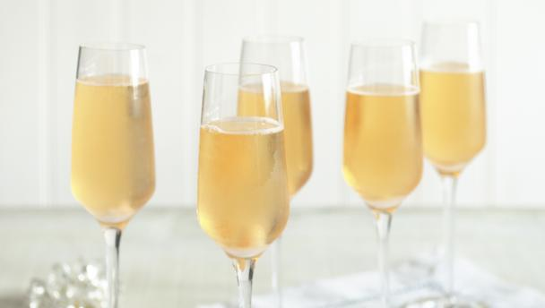 Bbc food recipes classic champagne cocktail for Champagne mixed drinks