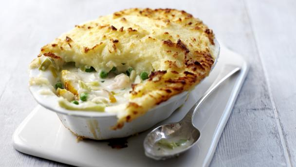 Bbc food recipes how to make fish pie for How to make fish food