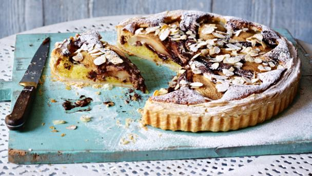 BBC Food - Recipes - Pear frangipane
