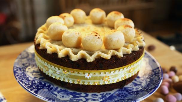BBC Food - Recipes - Simnel cake