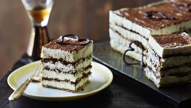 British Bake Off Tiramisu Cake